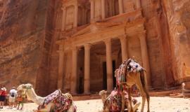 Estrada dos Reis em Petra, Jordânia - 19/05/14.